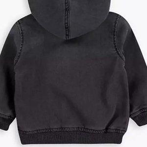 Levi's Baby Boys 18 mo Knit-Denim Hoodie Jacket